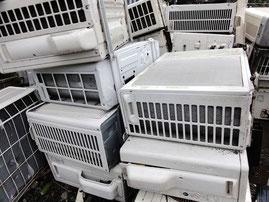 牛久市のエアコン処分,回収,リサイクル