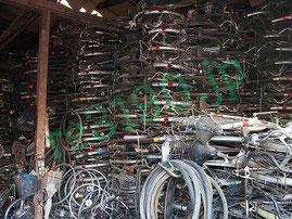つくば市のバイク、自転車回収です不用品回収