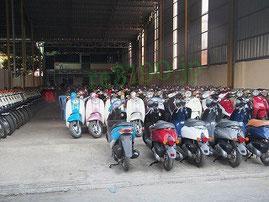 つくばし市のバイク回収処分