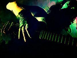 Brillanter Gitarrist: Hanzy Nischwitz