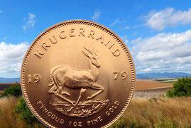 Südafrika 1 oz Krügerrand Goldmünze