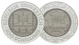 100 ATS Titan Österreich 2000 PP
