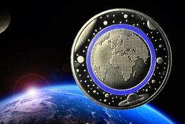 5 Euro Münze 2016 Planet Erde