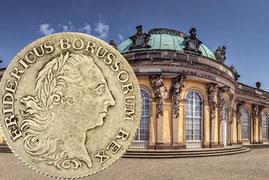 ½ Reichstaler Brandenburg-Preussen
