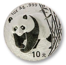 China Silber Panda