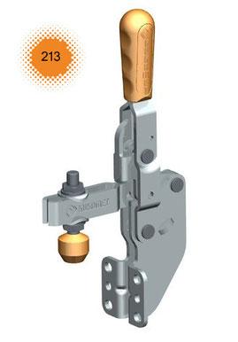 Vertikalspanner / Senkrechtspanner / Kniehebelspanner mit Winkelfuß