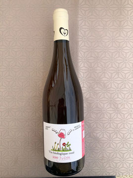 vin rosé de cabernet franc bio