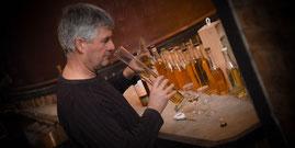 Pascal Rousteau du Domaine J'y Crois dans les assemblages Cognac