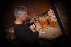 Pascal Rousteau du Domaine J'y Crois vigneron bio Cognac, Pineau, vins