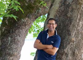Alain Yves Gozzer coacht mit viel Empathie und einer positiven Lebenseinstellung.