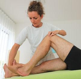 osteopathische Behandlung Knie