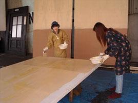 瓜生紀美子と吉嶺薫