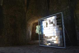MM1 miroir mouvant, installation, 2009-2010