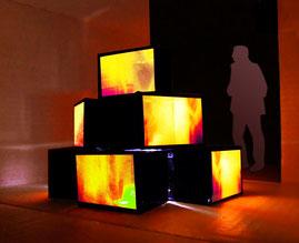 Feu le feu, projet, installation, 2009