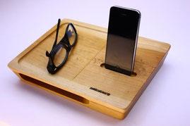 ノクターレ 携帯忘れな盆(iPhoneタイプ) サクラ パッシブスピーカー