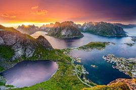Norwegische Inselgruppe