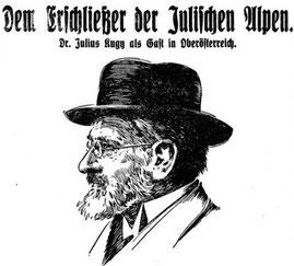 Julius Kugy, Julische Alpen