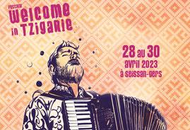 Festival de musique tzigane à Seissan dans le Gers, terre de festivals, en Occitanie, à 30 minutes de Lassenat éco-maison d'Hôtes en Gascogne, chambre d'Hôtes de charme, table d'hôtes gourmande, bio et locavore, écotourisme et slowtourisme.