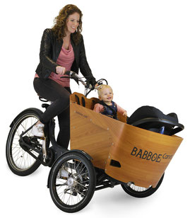 Babboe Carve Mountain Lasten e-Bike, Lastenfahrrad mit Elektromotor, e-Cargobike 2020