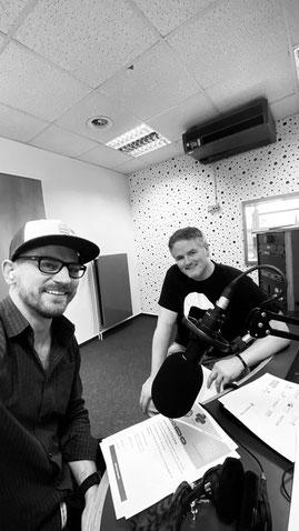 Marcel Colley beim Radio Hagen