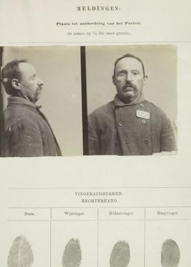 Singalementkaart Veenhuizen opname: 12-05-1896