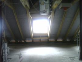 feuchte Kältebrücken unterm Dach