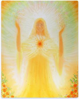 Persönliches Engelbild von Brigitte Devaia Jost (2013)