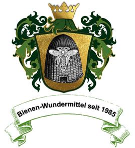 Logo Bienenimkerei Schwarz