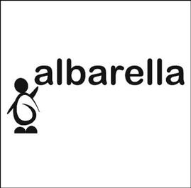 """logo """"Associazione Onluss Albarella"""" - Isola d'Ischia (Progetto donato all'omonima associazione a favore delle famiglie con casi di bambini leucemici)..."""