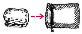 チェアーハンモックの洗濯方法5
