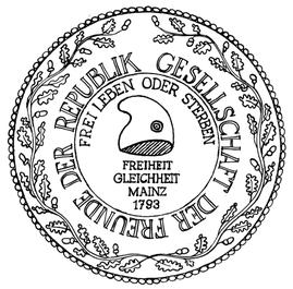 """Siegel der """"Gesellschaft der Freunde der Republik"""""""