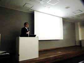 原教授による防災井戸に関する講演