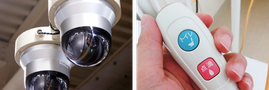 防犯・通信・電気設備機器の例