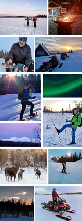 Winterurlaub in Schweden Lappland