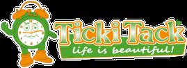 Ticki Tack Logo life is beautiful