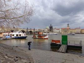 Kanal Certovka in Prag