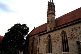 ルターが入ったエルフルトの修道院
