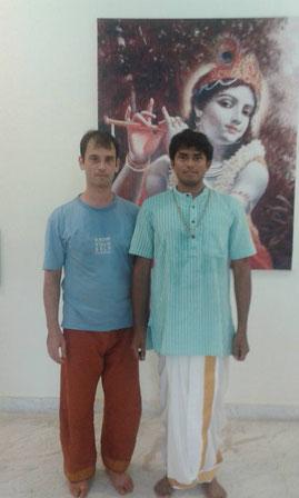 Thomas in Vijays Shala in Mysore