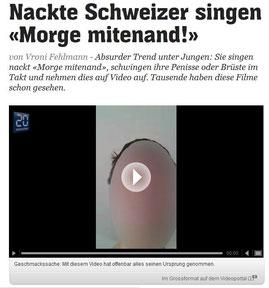 Online-Artikel von 20min.ch zu Viral-Video: Doppelmoral und Klickbolzen im Online-Journalismus