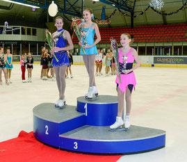 kunstschaatswedstrijd podium HSK