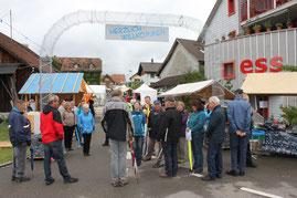 Herzlich willkommen zur Algetshauser Chilbi 2014, zwar hie und da verregnet, aber mit viel Publikum. Die Chilbi dauert von Freitag 18 Uhr bis Sonntag 18 Uhr.
