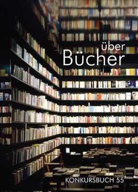 "Cover konkursbuch 55 ""Bücher"""
