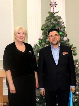 Полковник Абдусалом-Ходжи Хакимов награжден ценным подарком
