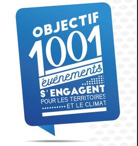 """Nantes est partenaire de la démarche """"1001 événements s'engagent pour les territoire et le climat""""."""