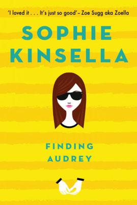 couverture Finding Audrey de Spohie Kinsella