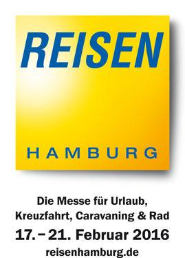 """e-motion Hamburg mit einem Stand auf der Messe """"Reisen Hamburg 2016"""""""