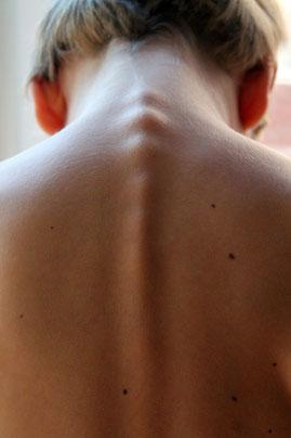 Organsprache Magen, Magen und Wirbelsäule,