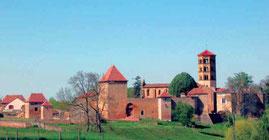 Le prieuré d'Anzy le Duc