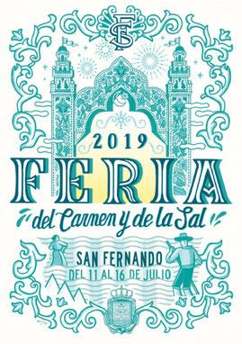 Fiestas en San Fernando Feria del Carmen y de la Sal