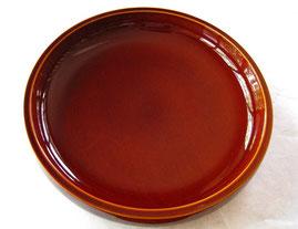 飛騨春慶塗の丸盆